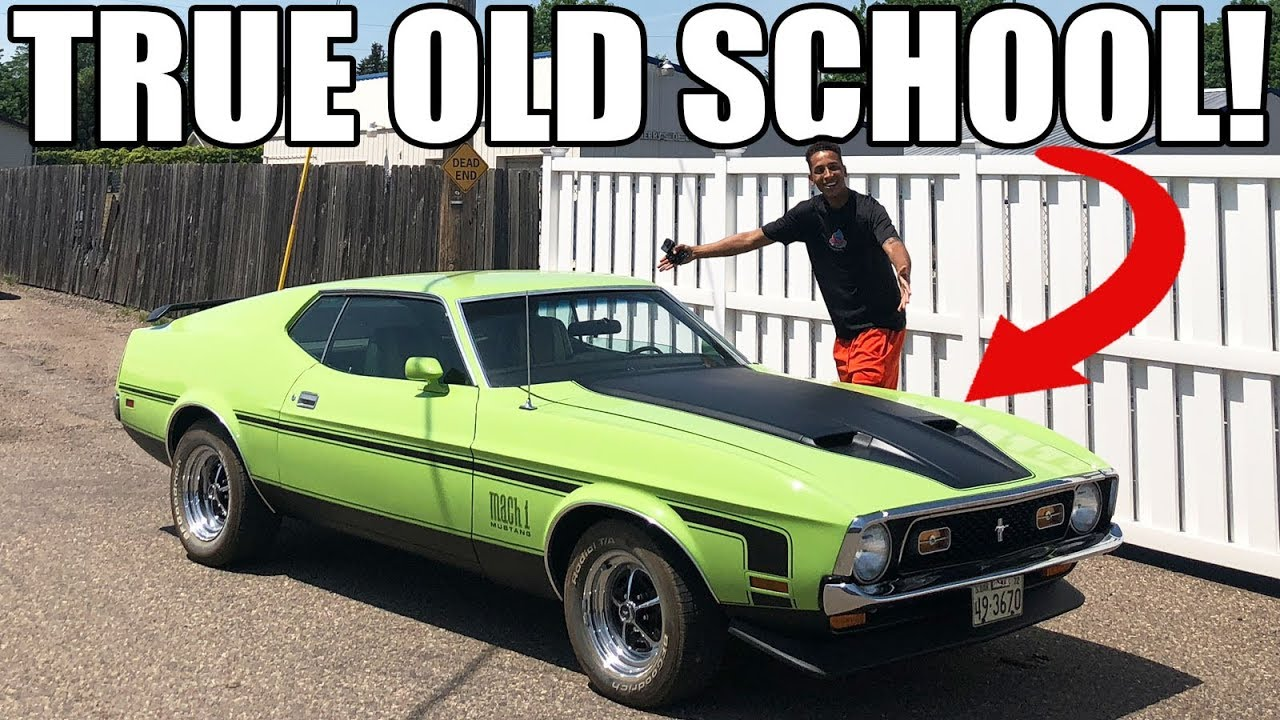 1972 mach 1 ford mustang review legendary old school muscle