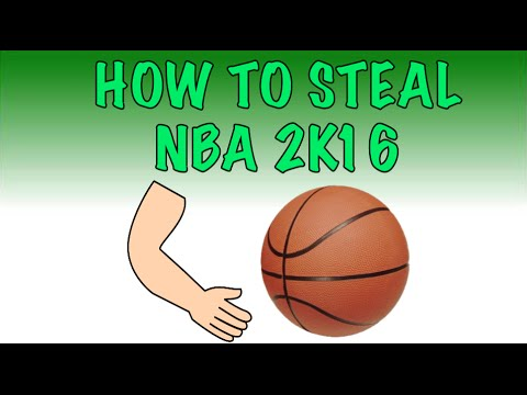How to Steal in NBA 2K16