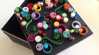 Quilling Jewellery Box