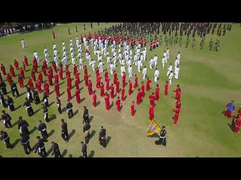 Kolaborasi Kolosal Bojonegoro Kampung Pesilat dan Pramuka Bojonegoro