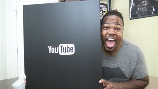One Million Subscribers YouTube Plaque UNBOXING!!!