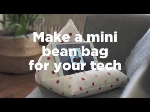 Make your own tablet bean bag | ao.com