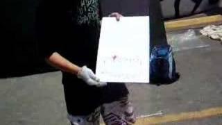 Bmx Ramps-youth Graffiti Artist Plans Art Piece