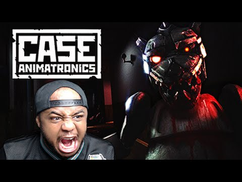 WARNING: VERY SCARY FNAF GAME! | Case Animatronics
