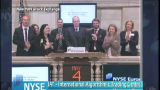 4 May 2010 IAT-International Algorithmic Trading GmbH Visits the NYSE