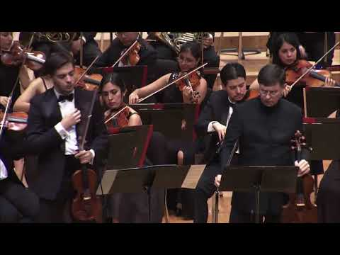 Mozart Sinfonía concertante 1er Mov. OJUEM. Obiso. Diaz. Rivero Weber