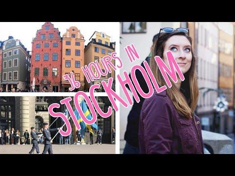36 Hours in Stockholm // Week 6 // CC Overseas Travel Vlog