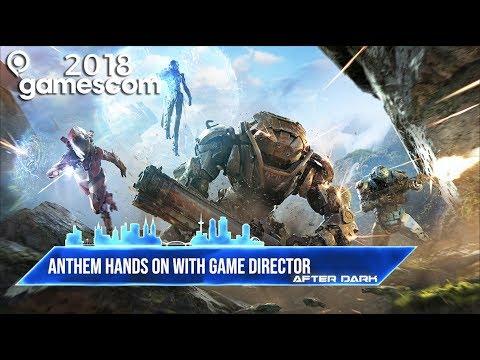 Anthem gameplay and Interceptor details - GamesRadar After Dark at GamesCom 2018