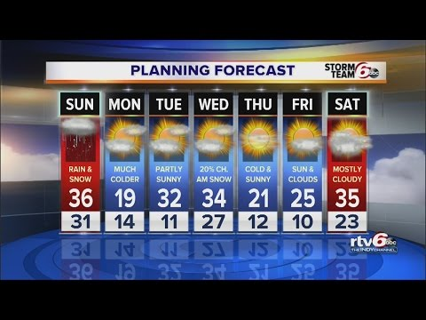 ALERT: Winter Weather Advisory for Indy