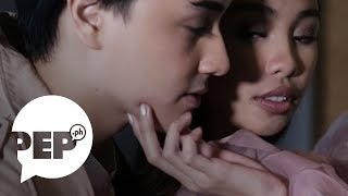 Watch the kilig move Maymay Entrata did with Edward Barber | PEP Main Attraction