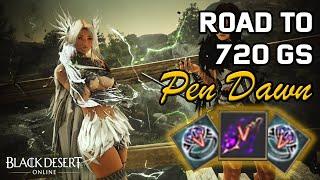 BDO - Road t๐ 720 GS (PEN Ruins & PEN Dawn)