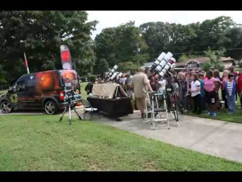 Druid Hills Middle School Solar Astronomy Outreach Sept 2014