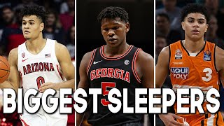 THE BIGGEST SLEEPERS OF THE 2020 NBA DRAFT | First Round Edition
