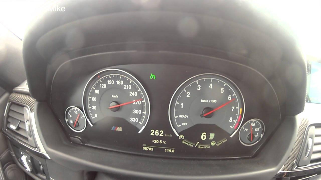 Top speed] BMW M4 F82 0-288 Km/h - YouTube