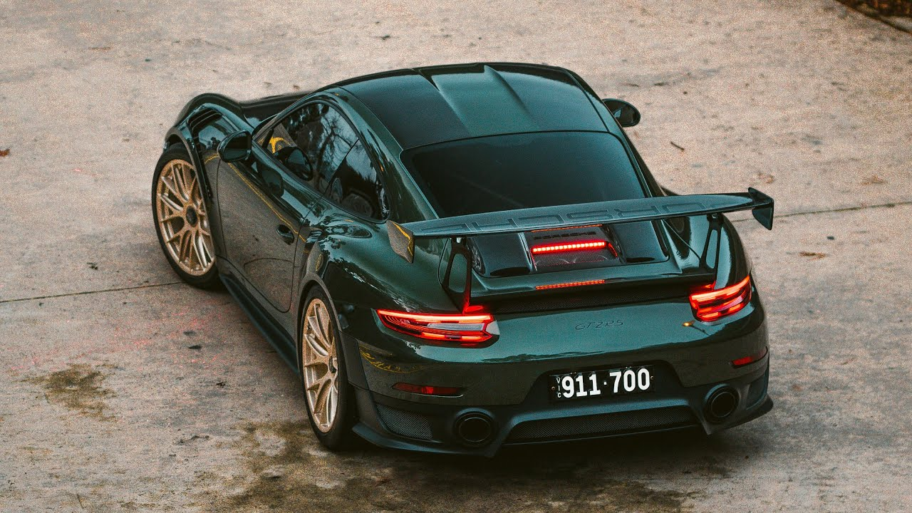 Photographing a Porsche GT2RS for 14 minutes straight.