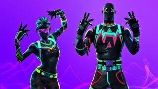 *NEW* SKINS - Neon Glow Gear | Battle Pass Grinding ( Fortnite Battle Royale ) Live Stream PS4