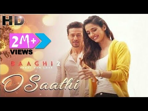 ᴴᴰ O Saathi - Baaghi 2 | Whatsapp Status 💑