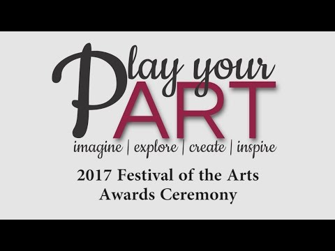 2017 Festival of the Arts Awards Ceremony