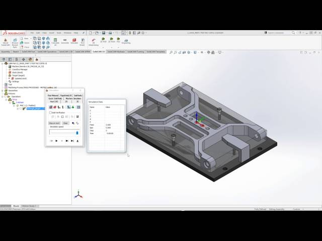 SolidCAM 2016 - Fixture Collision Protection