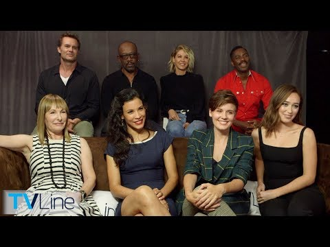 'Fear The Walking Dead' Cast Interview | Comic-Con 2018 | TVLine