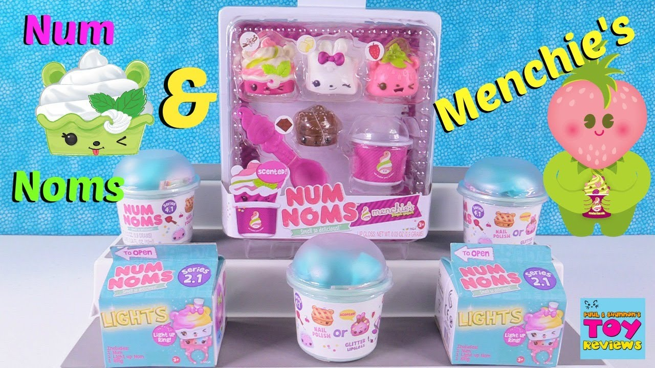 Num Noms Menchies Exclusive Playset Toysrus Pack Toy Review Opening