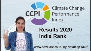 NTA NET JRF | Climate Change Performance Index (CCPI) India first time ranked among top 10