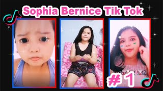 Pretty Cute Sophia Bernice Tik Tok Compilation #1
