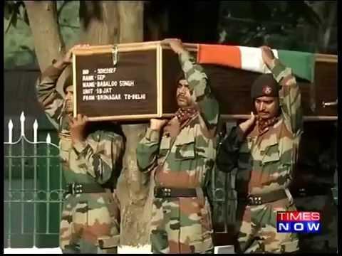 Jawans Pay Tribute to Kupwara Martyrs