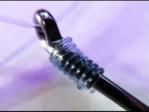 How to easily snell a Fishing Hook