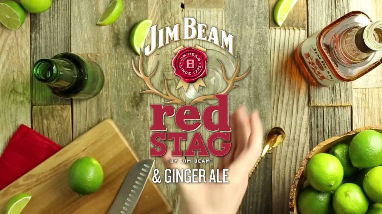 Виски Jim Beam Red Stag Black Cherry 1L купить сейчас!