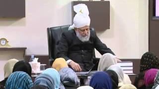 Gulshan-e-Waqfe Nau (Nasirat) Class: 20th November 2010 - Part 1 (Urdu)