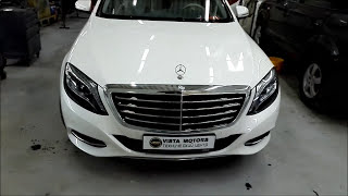 Mercedes Benz W222. 24 soat ichida avtomatik tana do'konlari