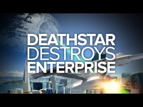 Death Star Destroys Enterprise (Special Edition) - IGN Original