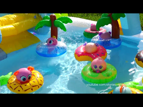 Thumbnail: Toys for Kids Distroller Babies & Toddlers Water Games in Swimming Pool - Aquatic Olympics