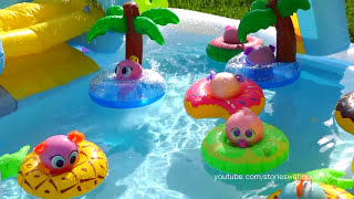 Toys for Kids Distroller Babies & Toddlers Water Games in Swimming Pool - Aquatic Olympics