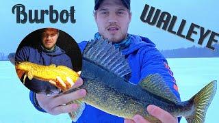 WALLEYE BURBOT Showdown on LEGENDARY Backwoods Lake