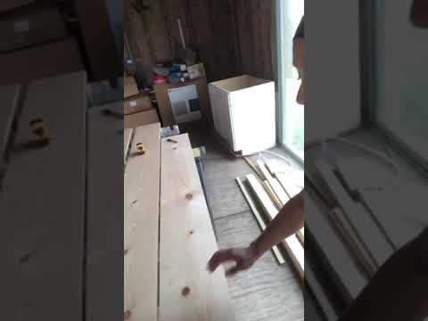 EASY Rustic DIY Barn Door Under $50!