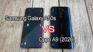 Samsung Galaxy A50s vs Oppo A9 (2020) | SpeedTest and Camera comparison