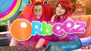 OVER 500,000 ORBEEZ! (ORBEEZ POOL PARTY CHALLENGE!)