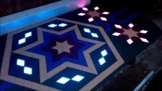 тротуарная плитка с подсветкой (видео)