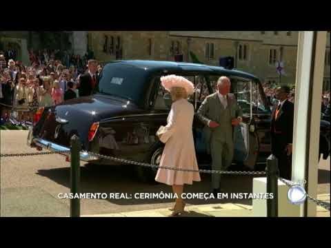 Mãe de Meghan Markle e Rainha Elizabeth II chegam ao casamento real