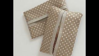How to sew a Mini Tissue Pocket Holder