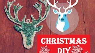 Новогоднее украшение своими руками!Голова оленя!Holidays DIY///Christmas DIY\\\