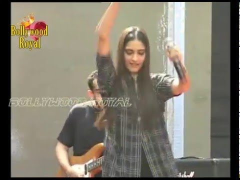 Sonam Kapoor at Song Launch of the film 'Neerja' at Pillar College Part  2