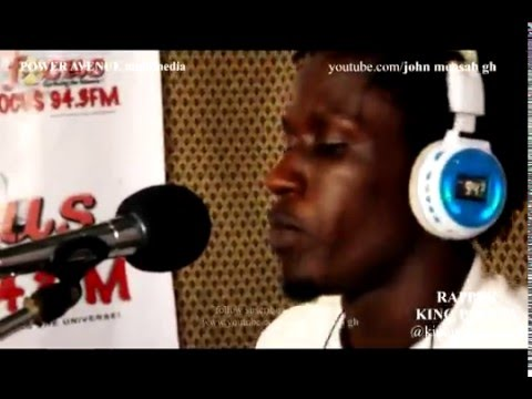 JOHN MENSAH GH- KING PALUTA drops comic lines. lots of laughter in punches