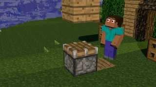 minecraft Анимация - The Pistons (Моя первая работа в Cinema 4d)
