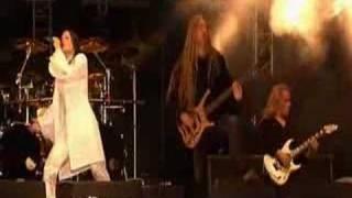 Nightwish at some Finnish festival.