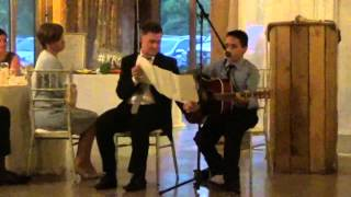 Young kid plays Ed Sheeran cover at his sister's wedding and nails it