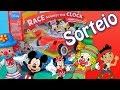 Mickey Mouse Minnie Jogo Corrida Contra Relogio Carrinho Minions Pirata Jake Brinquedos Video