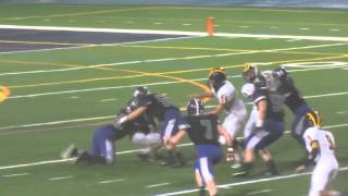 Ben Eisenstadt tackle for a loss